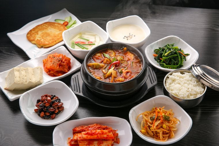 South Korean Food Dishes